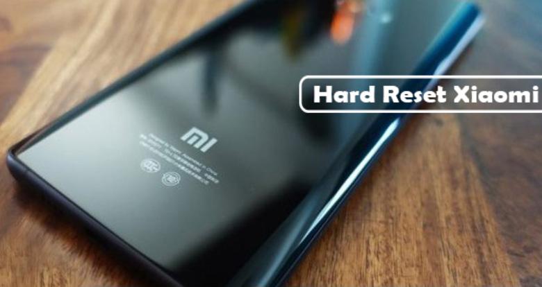 cara reset ulang hp Xiaomi (hard/factory reset)