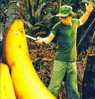 poster featuring woody allen Fielding Mellish banana platano serotonina