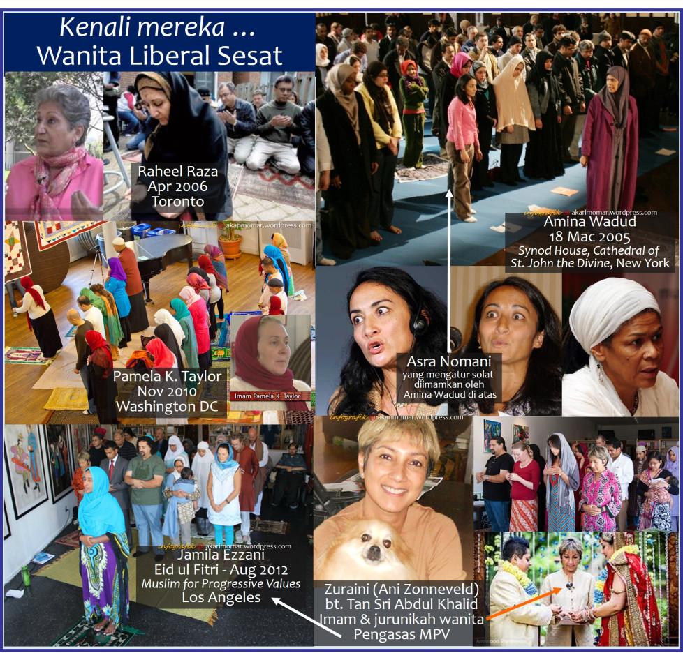 Liberal Kesesatan Atas Nama Agama: Kenali Imam-Imam Wanita Liberal Sesat
