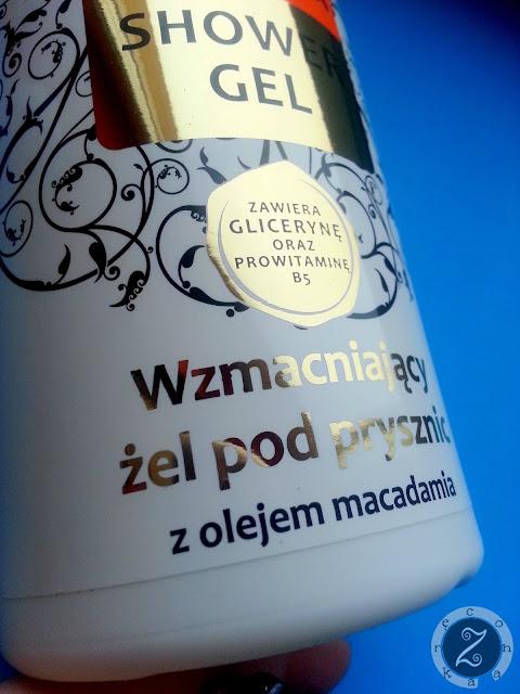 żel pod prysznic z olejem macadamia