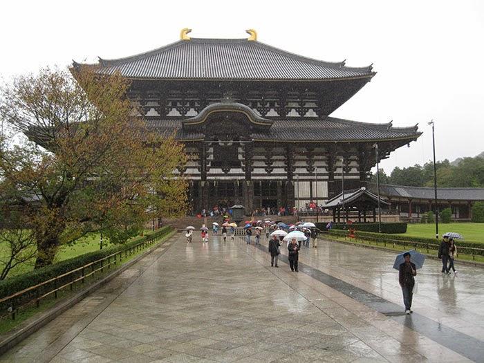 Todaiji Temple, Nara, Japan.