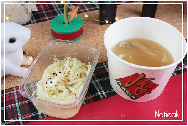 salade  et soupe  Restaurant japonais Momoya  :  Allo Resto  by Just Eat