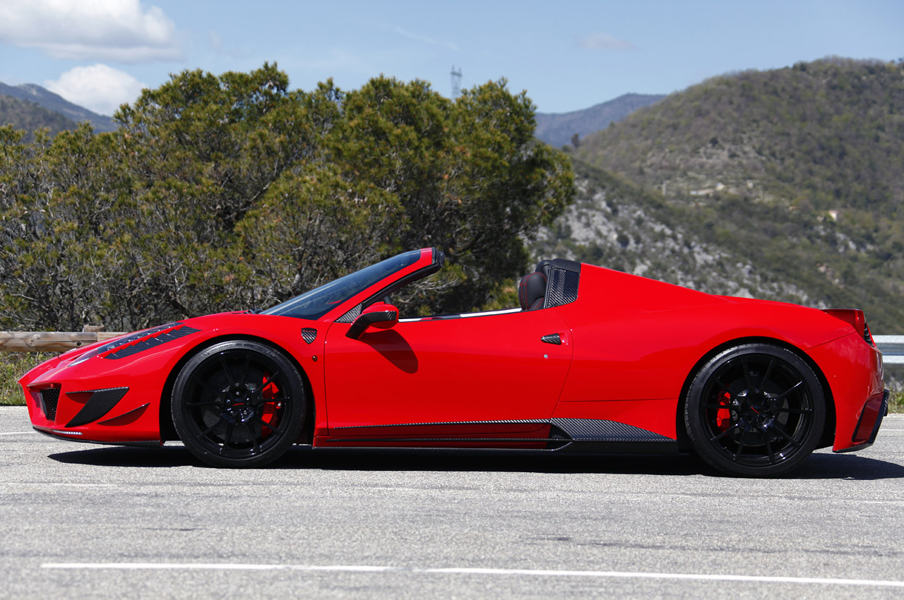Wallpaper Mobil Sport Ferrari: Magazines: Ferrari 458 Spider Part 1