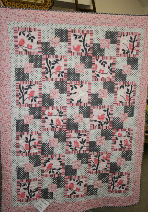 Five Yard Quilt Free Pattern Designed by Susan Kortum pf The Quilt Shop