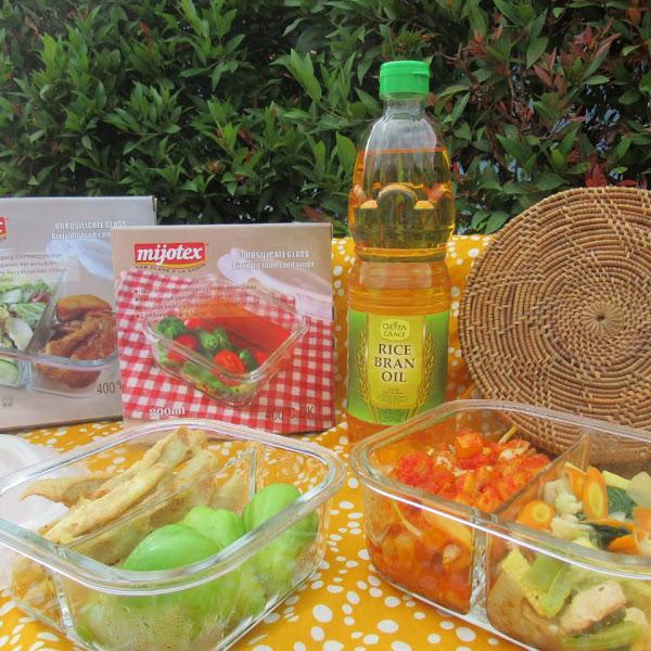 ORYZA GRACE Rice Bran Oil Membuat Menu Piknik Sederhana Menjadi Istimewa