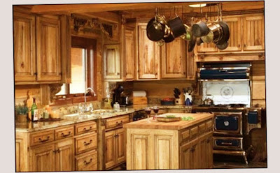 Full Woods Material Country Kitchen Decorating Ideas Home Traditional Themes New Design