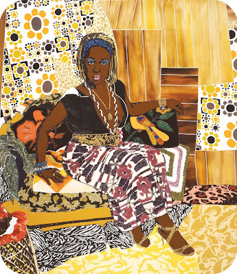 This Girl Could Be Dangerous (2007), Mickalene Thomas