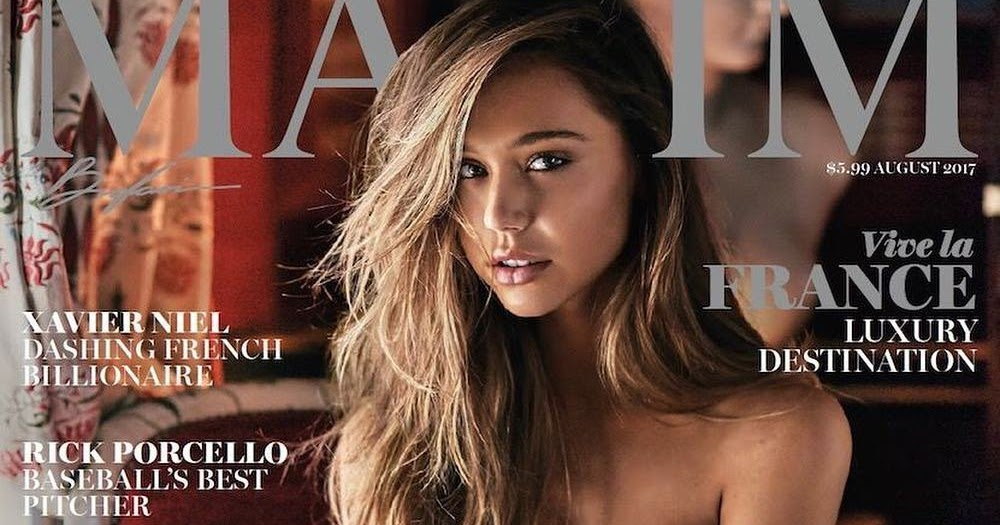 Alexis Ren smoulders for Maxim Magazine July 2017