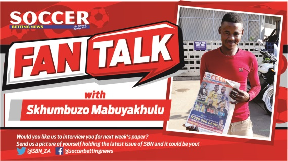 Skhumbuzo Mabuyakhulu fan of the week
