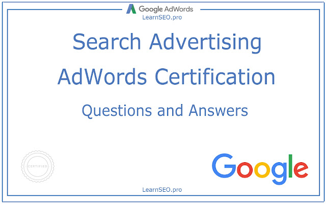 Search Advertising Certification