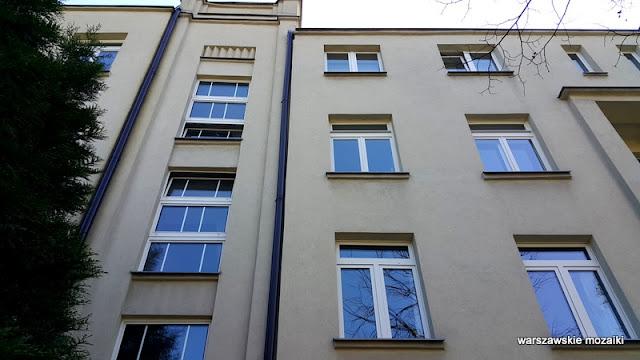 kamienica Warszawa Warsaw ulica street Żoliborz architektura zabudowa