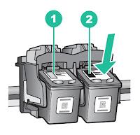 HP Deskjet F4180 - Cambiar cartuchos de tinta