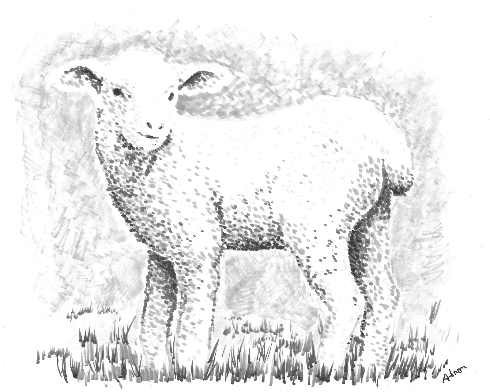 how to tell when a sheep is going to lamb