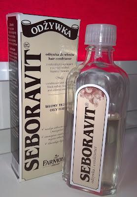 Seboravit - odżywka do włosów przetłuszczających się.
