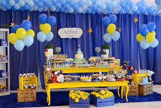 decoração aniversário pequeno principe