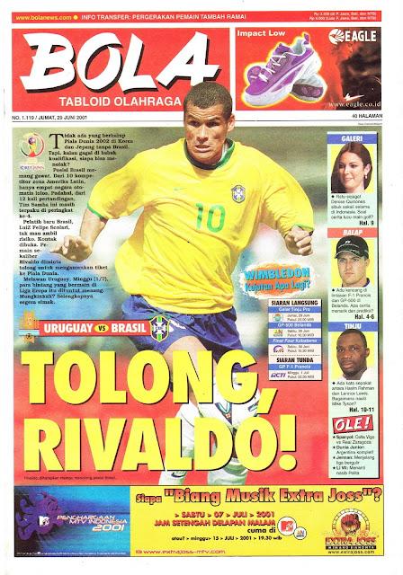 URUGUAY VS BRASIL RIVALDO