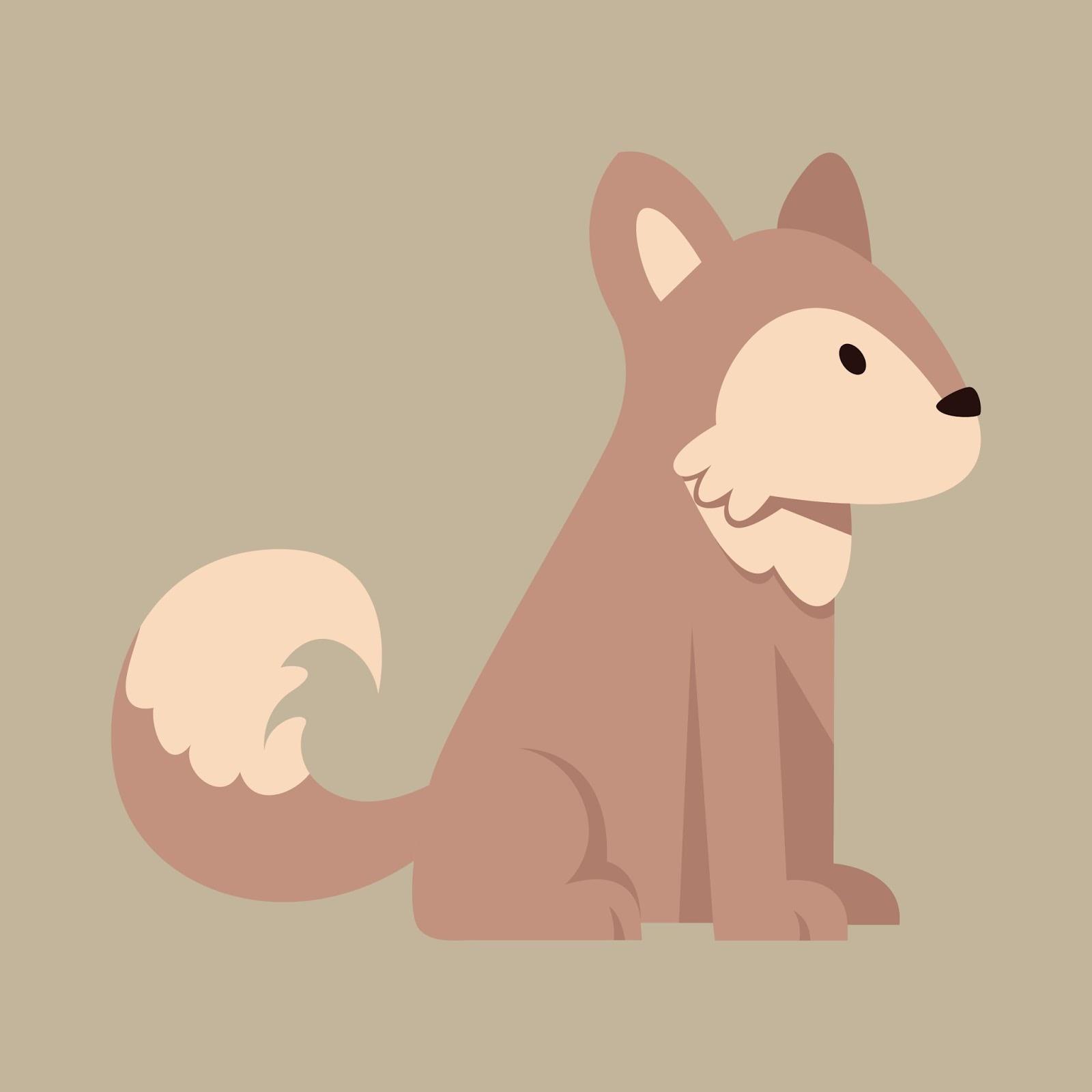 clipart clip art cute dog vector free download husky dog [ 1600 x 1600 Pixel ]