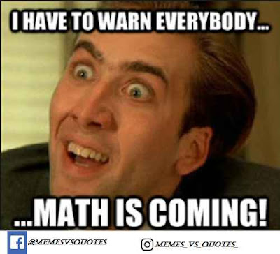 Math is coming