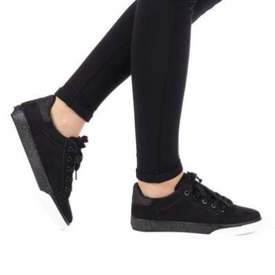 Pantofi sport dama Zipyn negri