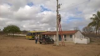 Prefeitura de Picuí repõe lâmpadas e amplia iluminação pública na zona rural