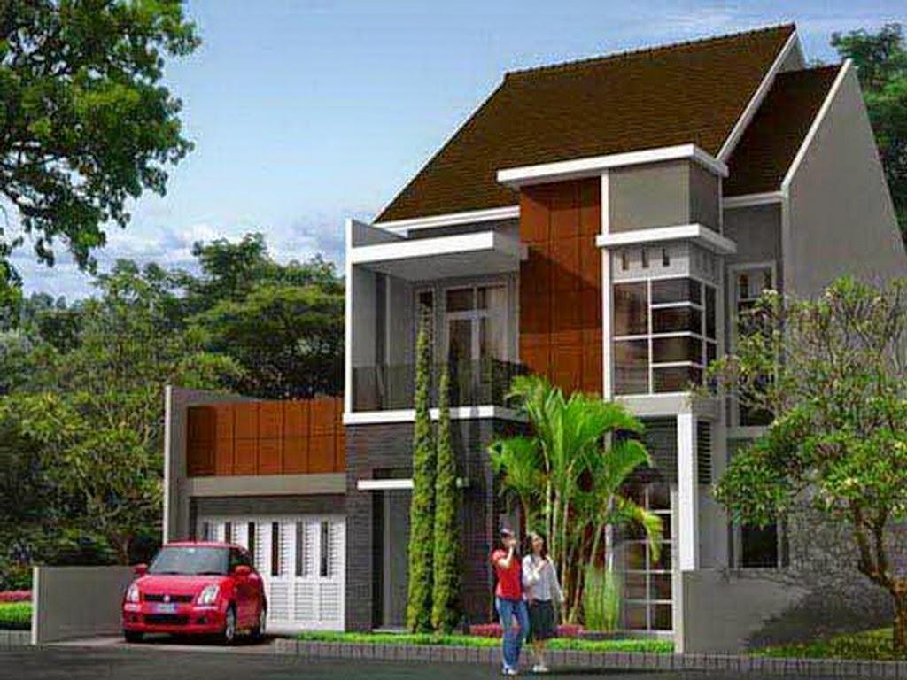 65 Desain  Rumah Minimalis 2 Lantai Type 70 Desain  Rumah