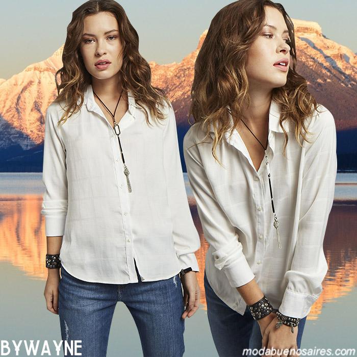 Camisas de mujer estilo urbano y femenino invierno 2019.