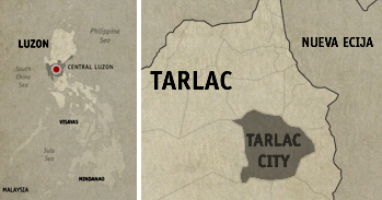 Dampa Sa Tarlac Location Map