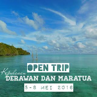 Pulau Maratua dan Derawan 5-8 Mei 2016