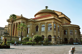 The magnificent Teatro Massimo is seen as a symbol of Palermo's rebellion against the grip of the Mafia