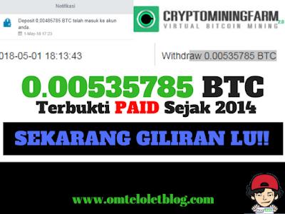 Mining Bitcoin Otomatis No Scam dan Terbukti Membayar Sejak 2014 Hingga Sekarang