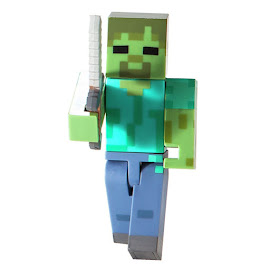 Minecraft Series 2 Zombie Overworld Figure