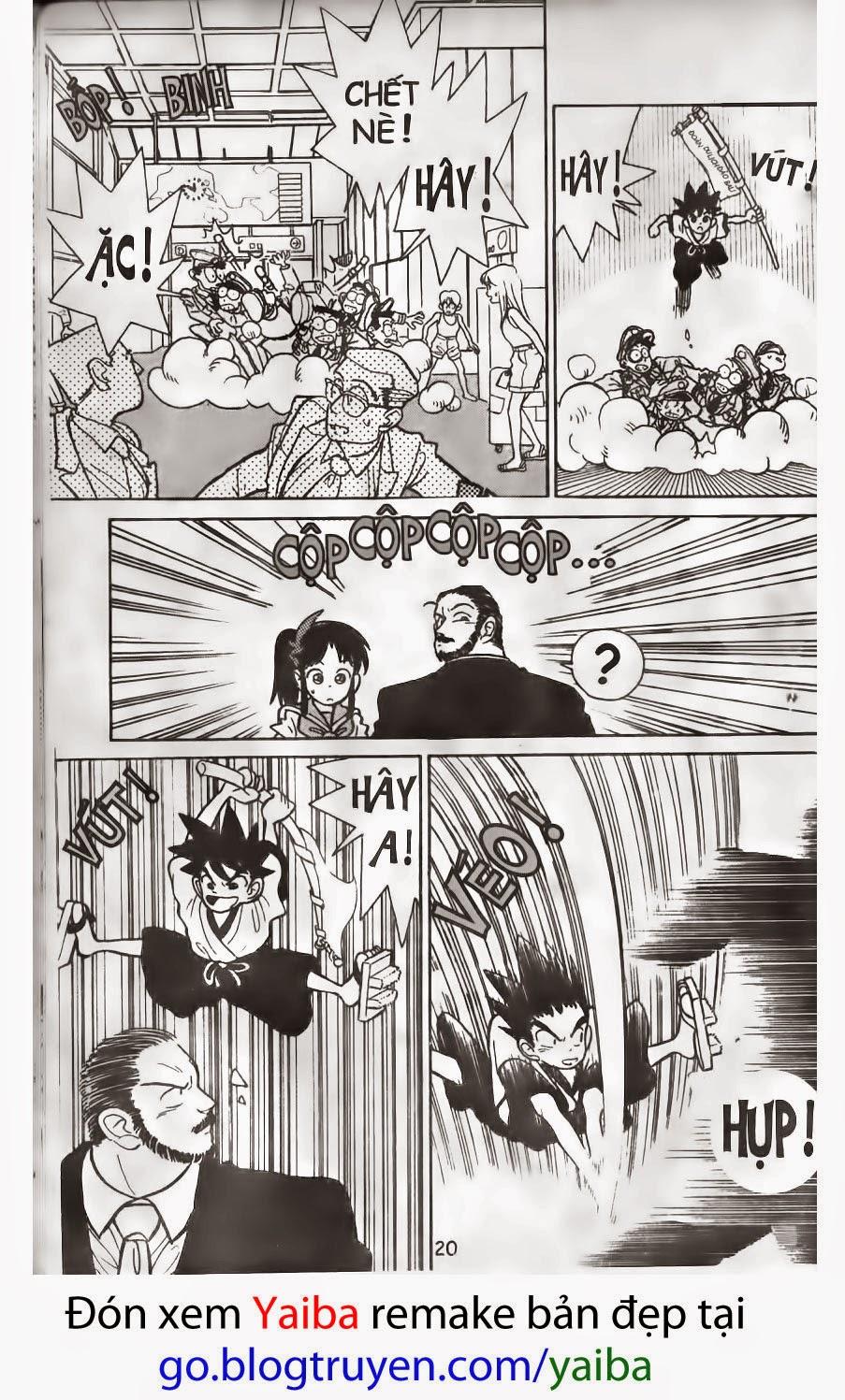 Yaiba chap 1 trang 16