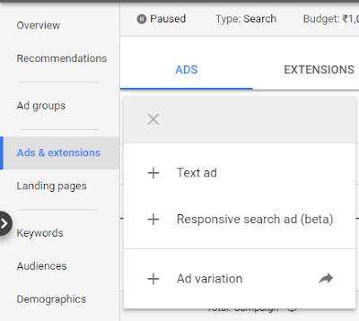 New Update in Google Search Ads | Responsive Search Ads
