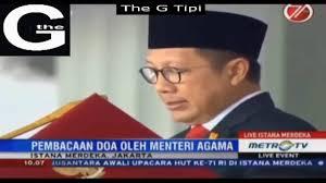 DO'A PADA UPACARA PERINGATAN HUT KE-71 KEMERDEKAAN REPUBLIK INDONESIA