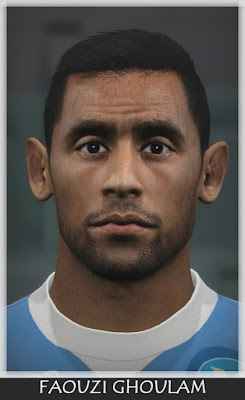 PES 2016 Faouzi Ghoulam (Napoli) Face by Bono Facemaker