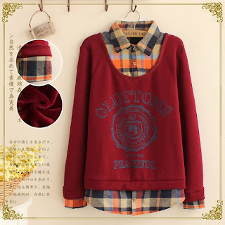 Fashion Women winter thick red Letter plaid patchwork print turn-down collar pullover sweatshirts Casual hoodies brand - See more at: http://www.nyfifth.com/fashion-women-winter-thick-red-letter-plaid-patchwork-print-turn-down-collar-pullover-sweatshirts-ca-pid-38905.html#sthash.E9VekYKu.dpuf