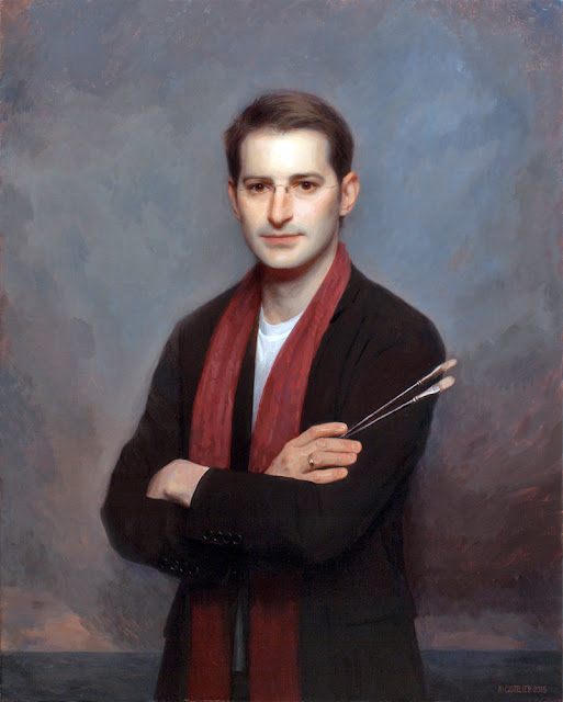 Adrian Gottlieb, Self Portrait, Portraits of Painters, Fine arts