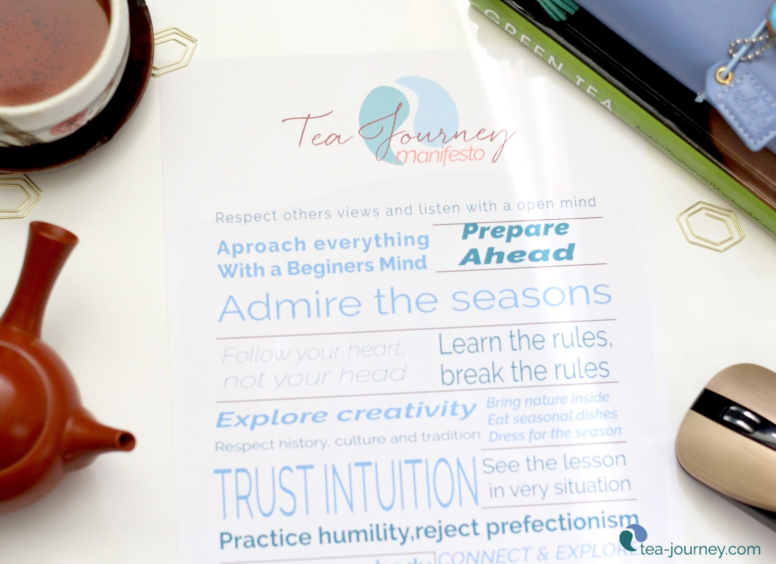 In this modern age we are in need of a Tea Journey Manifesto to guide our practice with tea and its lifestyle. Digital Table is about community and everyone coming together for a common cause through tea and the cultures, traditions and history that surrounds it.