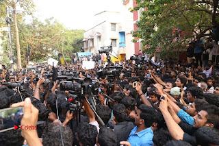 Tamil Actor Simbu (Silambarasan) Press Meet on Jallikattu Issue  0006.JPG
