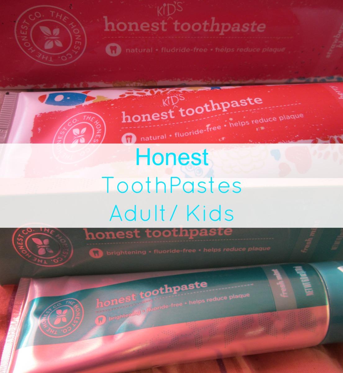 the honest company toothpaste