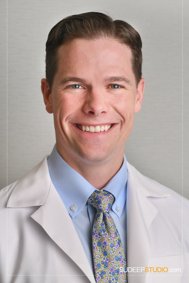 Doctor Headshots for Clinic Physician Practice Ann Arbor Professional Headshot Photographer