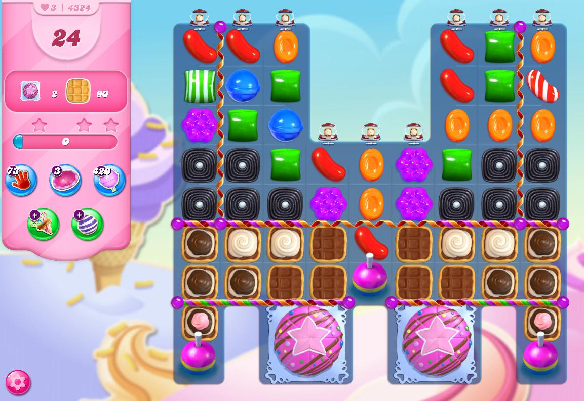Candy Crush Saga level 4324