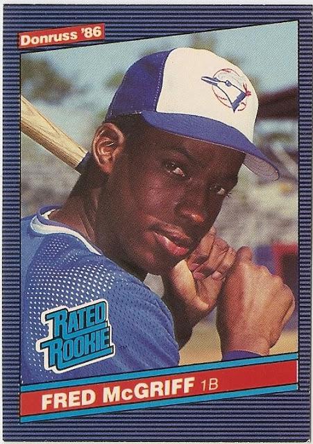 Baseball Card Breakdown One True Rookie Fred Mcgriff
