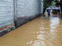 Hujan Deras, Puluhan Rumah di Kecamatan Sukorejo dan Kauman Terendam Air