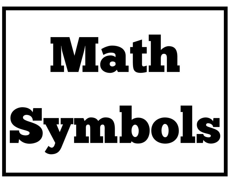 Math Symbol Average Gallery Meaning Of This Symbol