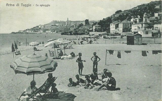 Arma di Taggia, in spiaggia in piena guerra