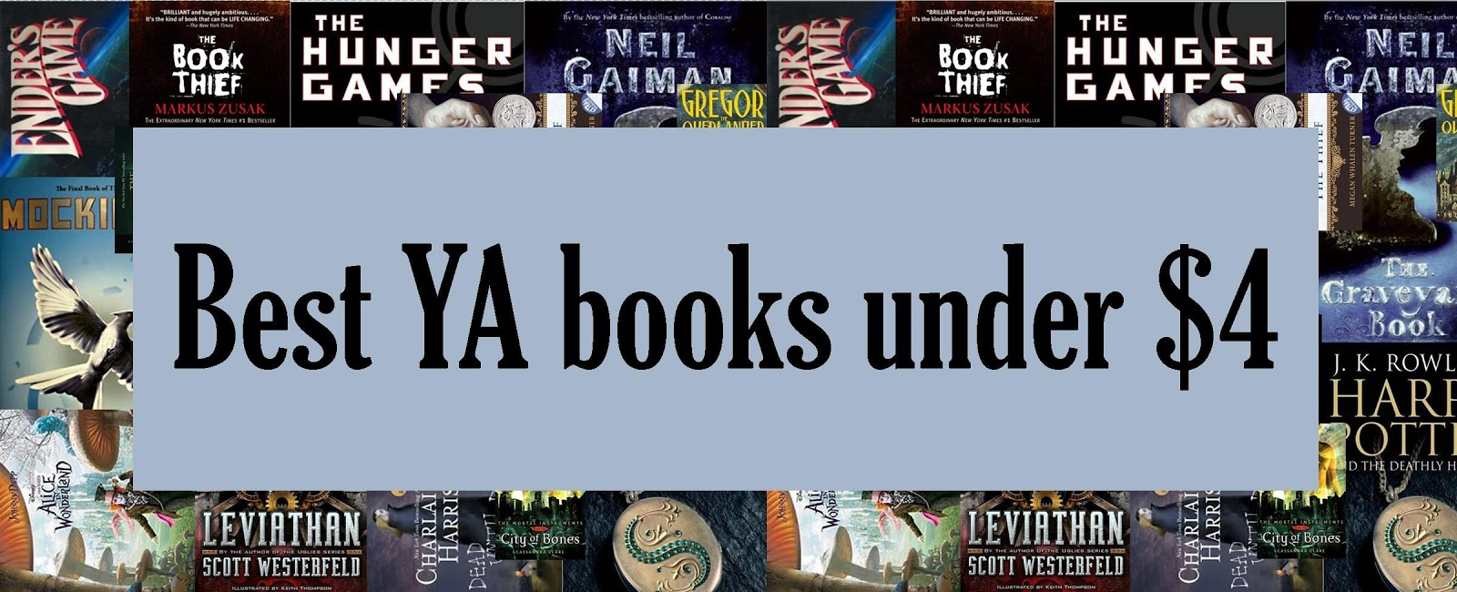 AprilWhiteBooks: Best YA Books Under $4