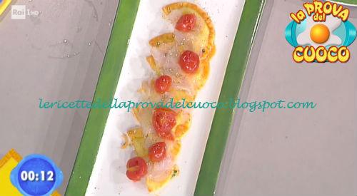 Mezzelune alla Casatella con petali san pietro ricetta Scarpa da Prova del Cuoco