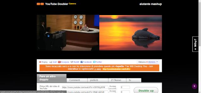You Tube Doubler screen-shot