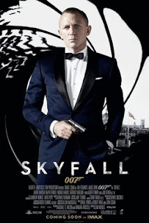 SKYFALL 2012 MOVIE POSTER